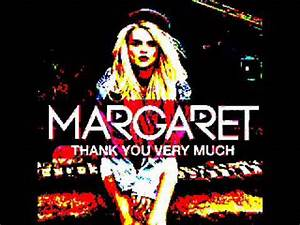Thank you very much - margaret (Cover) - YouTube