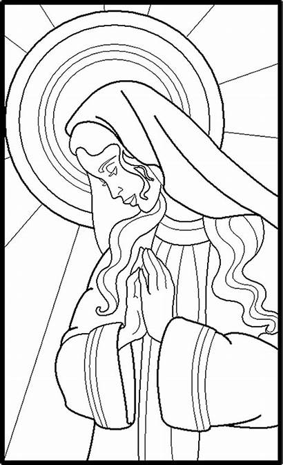 Song Mary Marys Sermons4kids Coloring Luke Colorpg