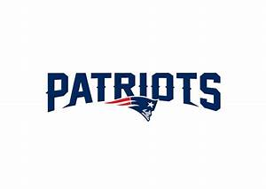 New England Patriots Logo - Transfer Decal Wall Decal