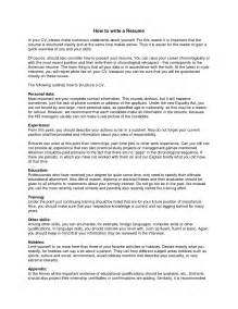What Do You Need To In A Resume by 100 What Do You Need On A Resume Remarkable I Need A