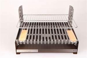 Barbecue A Poser : barbecue somagic au charbon de bois grilloir jardideco ~ Melissatoandfro.com Idées de Décoration