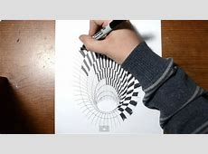 Designer Shows How An Astoundingly Realistic 3D Drawing Of