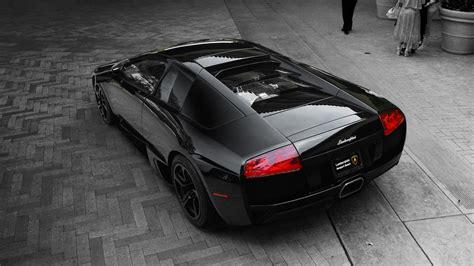 Black Lamborghini Car Wallpapers by Black Lamborghini Murcielago Lp640 Wallpaper Hd Car