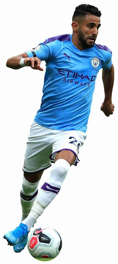 Mahrez Riyad Render Football Footyrenders Manchester League