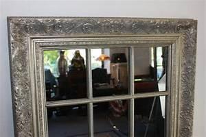 Spiegel Mit Facettenschliff : grosser spiegel wandspiegel farbe shiny silber mit facettenschliff 82 x 142 5 cm kaufen bei ~ Frokenaadalensverden.com Haus und Dekorationen