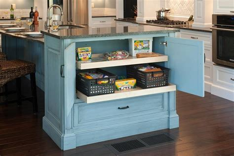 blue kitchen storage kitchen island awesome kitchen island in modern design 1740