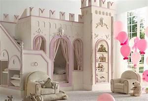 Deco Chambre Fille Princesse : lit enfant pour la chambre fille ou gar on en 41 exemples ~ Teatrodelosmanantiales.com Idées de Décoration