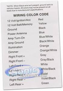 Mercury Wiring Color Codes