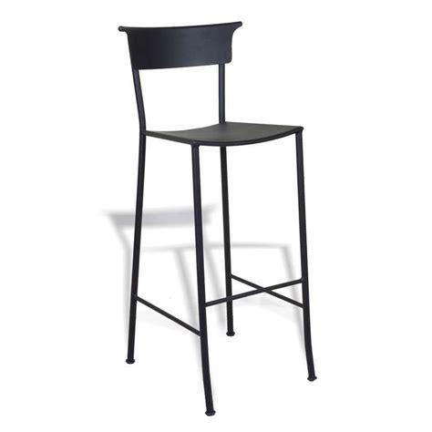 tabouret de bar en fer forg 233 napoles 4 pieds tables