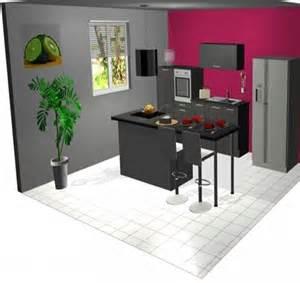 modele de cuisine moderne avec ilot modele cuisine avec ilot cuisine modules inox bois