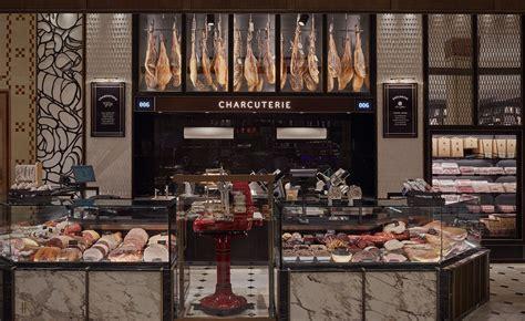 harrods fresh food hall overhauled  david collins