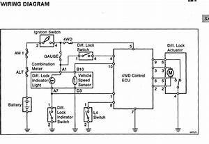 Wiring Elocker W   4wd Computer  U0026 Dash Switch