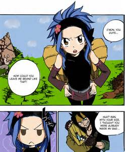 Gajeel and Levy Cute Moments