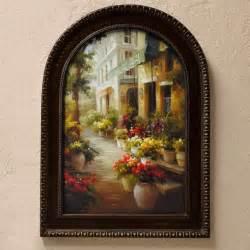 tuscan wall art chemin de fleur