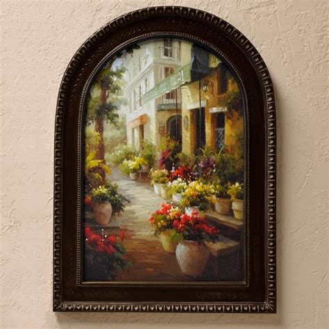 Tuscan Wall Decor For Kitchen by Tuscan Wall Chemin De Fleur