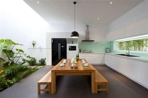 Luxus Küche Mit Vielen Pflanzen  41 Interessante