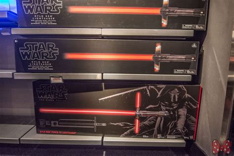 new quot the last jedi quot premium kylo ren lightsaber with detachable blades at launch bay mickey