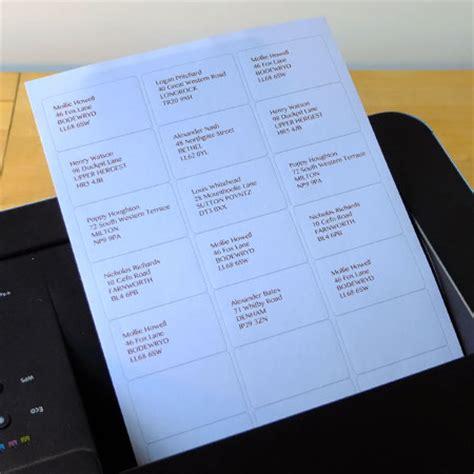 printer labels    sheet equivalent  avery