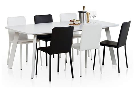 Table De Cuisine Ovale Stratifiée 75cm Elias