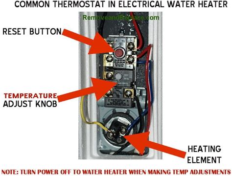 How Change The Temperature Your Electric Water