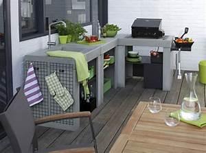 Evier D Exterieur Pour Jardin : id es d 39 inspiration pour int grer un barbecue ou une ~ Premium-room.com Idées de Décoration