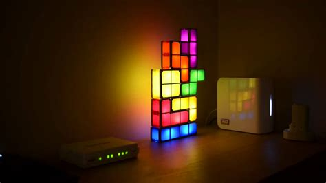 tetris stackable led desk l canada tetris stackable led desk l