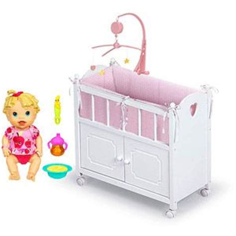 baby alive changing table baby alive baby all gone doll with badger basket doll crib