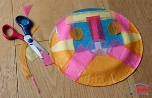 Papillon Papier De Soie : un papillon dans une assiette en papier cabane id es ~ Zukunftsfamilie.com Idées de Décoration