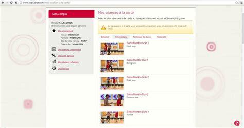 cour de cuisine gratuit en ligne cours de salsa en ligne salsa guide fr le portail sur la