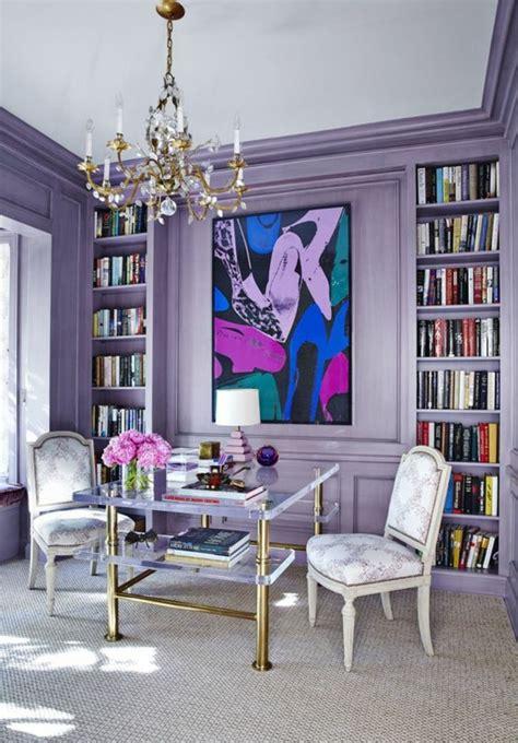 couleur de chambre violet 1001 idées pour la décoration d 39 une chambre gris et violet