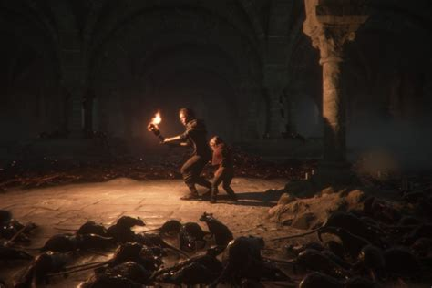 plague tale innocence review  grisly story driven