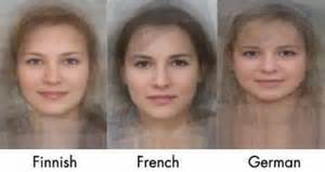 The Average Face of Di...French People Physical Features
