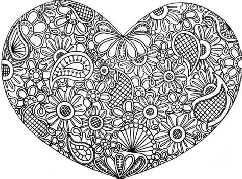 Ausmalbilder Für Erwachsene Herzen : Herz Ausmalbilder Für Erwachsene Kostenlos Zum Ausdrucken 2