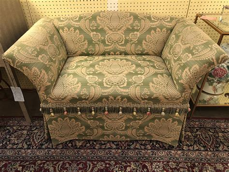 Green Settee by Green Settee Antique And Consignment Highwood