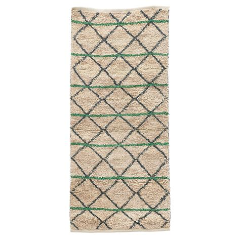 Doctor Teppich by House Doctor Teppich Green Geometry 90 X 200 Cm