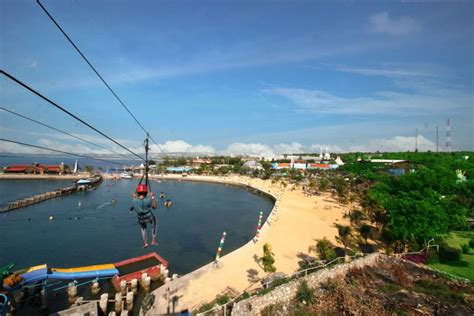 wisata bahari lamongan waterpark  keren  jawa