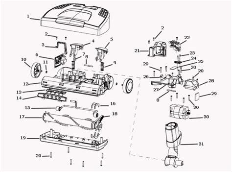 electrolux el7060a canister vacuum parts