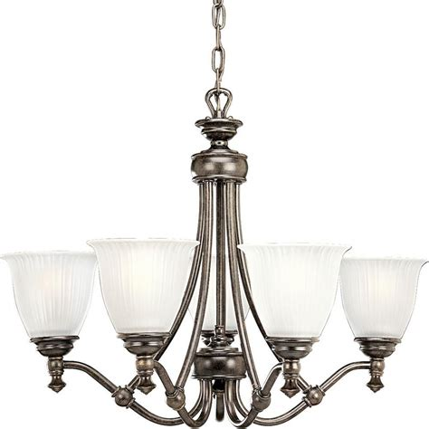 home depot chandelier progress lighting renovations collection forged bronze 5