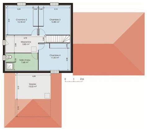 plan de maison 4 chambres avec 騁age document non trouvé erreur 404 faire construire sa maison