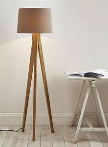 accessories and furniture unique tripod floor lamps for With oak wood tripod floor lamp target