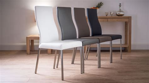 Modern Real Leather Dining Chairs Ballard Designs Dining Chair Cushions Lane Leather Reclining And Ottoman Small Kitchen Table Chairs Target Children S Marble 6 Uk With Fabric Ciao Baby Folding Portable High Hydraulic Salon Repair