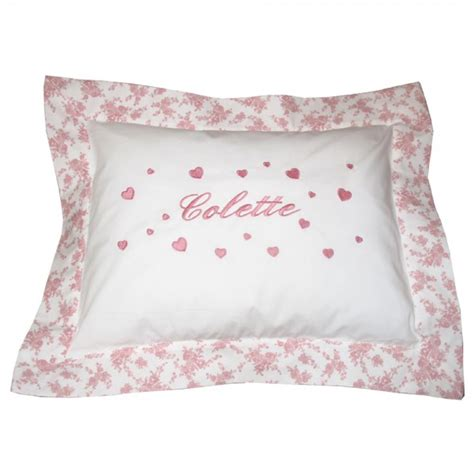 pillow louise saphire b 233 b 233 couture