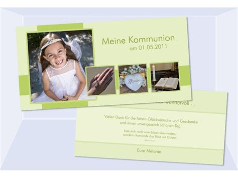 danksagungskarte konfirmation kommunion danksagung din