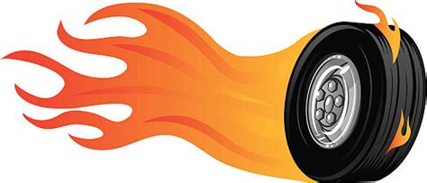 Pencil And In Color Tire Clipart On