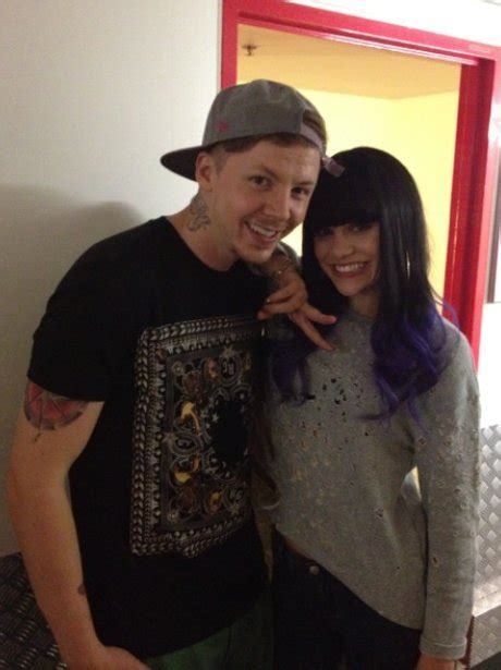 Professr Green And Jessie J At End Of Australian Tour ...