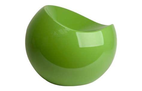 fauteuil pouf design vert comfy ball miliboo