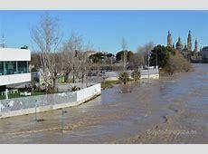 Imágenes de la crecida del Ebro en Zaragoza