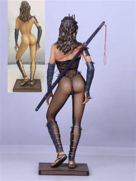 lady ninja hajime sorayama statue  fantasy figure