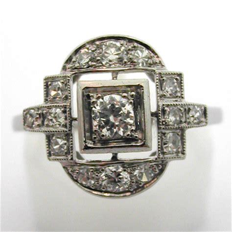 bague ancienne platine diamants 536 bijou d 233 co bijoux anciens or