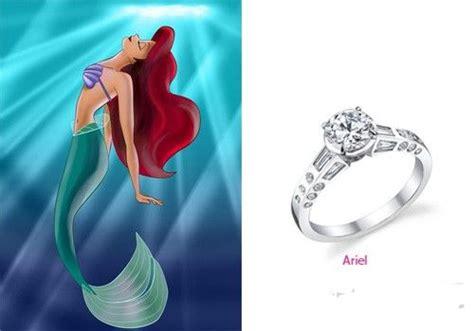 little mermaid engagement ring tmb pinterest